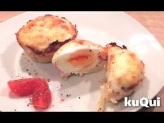 Hier könnt ihr sehen wie man ganz leicht leckere Frühstücksmuffins zubereitet: https://www.youtube.com/watch?v=8ednxCquYpQ