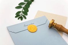 Wax Seal Stamp, Alphabet Wax Seal, Letter Wax Seal, Wax Seal, Envelope Seal by CaribouMilk on Etsy Wax Seal Stamp, Wax Seals, Envelope, Alphabet, Place Card Holders, Lettering, Unique Jewelry, Handmade Gifts, Wedding