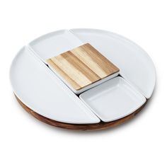 Lazy Susan with Serving Dishes | family dinner | UncommonGoods