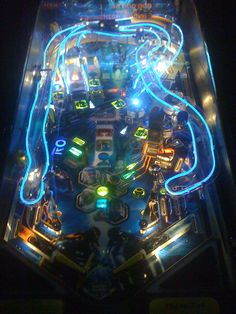 Tron Pinball...I want one!