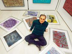 Devrim Erbil Sanat Gezgini / serigrafi