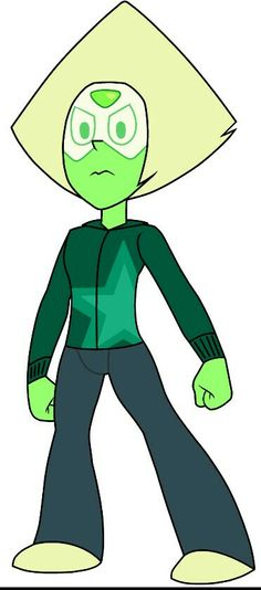 This is my favorite Crystal Gem outfit for Peridot. I really want her to wear this in the show!