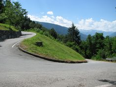 The Mortirolo ascent - not quite as bad as the Zoncolan, but steep too...