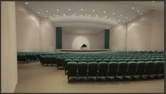 www.psavideo.com - animation - showing off a new auditorium and its seating and stage... easy with animation.
