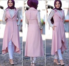 Most Popular Ways To Clothes For Women Hijab Summer 58 Stylish Hijab, Modest Fashion Hijab, Street Hijab Fashion, Hijab Chic, Abaya Fashion, Islamic Fashion, Muslim Fashion, Modele Hijab, Hijab Dress