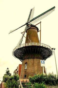 Rotterdam - Old windmill Delfshaven
