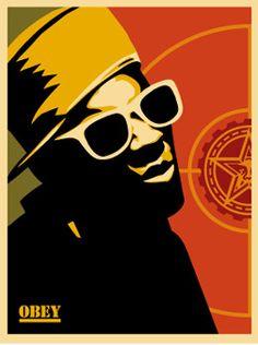Flava Flav | Shepard Fairey | 2002