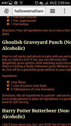 No alcohol drink