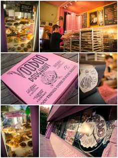Voodoo Donut Shop where Reece bought his booty call donuts from. Anne's favorite.