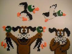 Duck Hunt perler beads by *RetroNinNin on deviantART