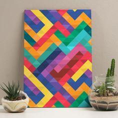 Placa Decorativa 20x29 Colorfull