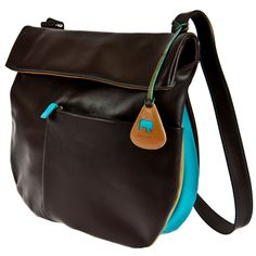 Round Gusset Bag - Chocolate Mousse - Mywalit.