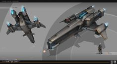 A bunch of spaceship concepts  I did for Galaxy on Fire3: Manticore a few years back. Because the game was developed for mobile, most of them have a reduced shape-language to have a better readability on small screens.