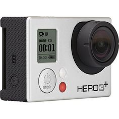GoPro HERO3+ Silver Edition (Certified Refurbished)  http://www.lookatcamera.com/gopro-hero3-silver-edition-certified-refurbished/