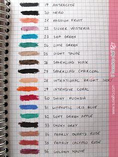 Long Lasting Stick Eyeshadow dal 34 al 49 Kiko ~ Il Taccuino dell'Elfa Eye Make Up, Swatch, Taupe, Eyeshadow, Sparkle, Makeup, How To Make, Shopping, Eyes