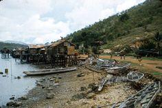 Port Moresby Harbour Defences WW2 Tatana village