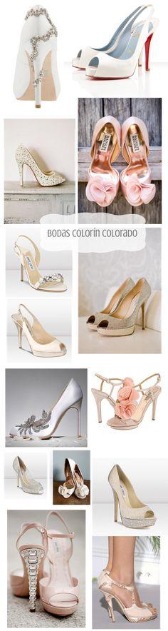 - Bodas Colorín Colorado -: - Zapatos de Lujo para Novias Elegantes High heals girly