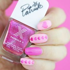 Are Your Nails V-Day Ready? | Nail That Accent -Heart Nail Stencils snailvinyls.com