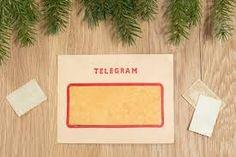 Resultado de imagem para telegrama