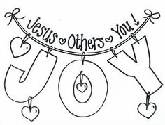 Fruit of the Spirit Joy Jesus First, Others 2nd, Yourself ...