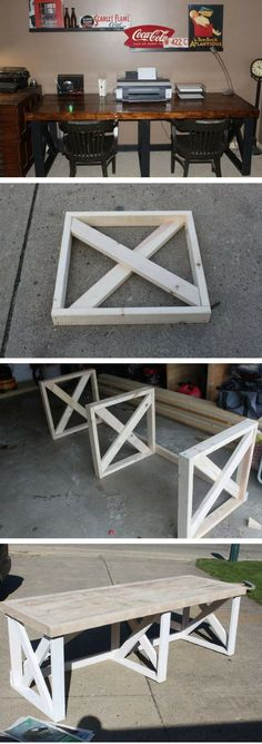 22 Awesome DIY Desks You Should Build at Home #woodworkathome