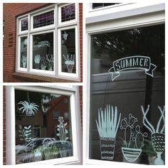 Chalkboard markers, chalk markers, chalkboard art, window drawings, chalk d