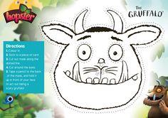Gruffalo Mask Free Printable