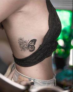 56 Stunning Tattoo Designs You' ll Desperately Desire - Page 9 of 55 - SooPush - Tattoos - 56 Stunning Tattoo Designs You' ll Desperately Desire – Page 9 of 55 – SooPush Summer tattoo, tattoo design, tattoo ideas, Tattoo. Dainty Tattoos, Mini Tattoos, Body Art Tattoos, New Tattoos, Small Tattoos, Tatoos, Tattoos On Side, Rib Cage Tattoos, Rose Rib Tattoos