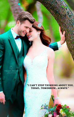 Cute Couple Images, Couples Images, Love Couple, Beautiful Couple, Cute Couples, One Shoulder Wedding Dress, Wedding Dresses, Pretty, Beauty