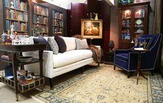 """Read...Refresh...Relax..."" in Duralee, Suite 38 by Julie Byrne of Julie Byrne Interiors Photo by Beth Singer"