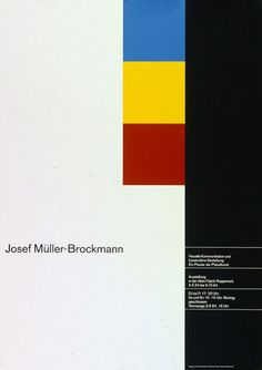 Josef Müller-Brockmann | Flickr - Photo Sharing!