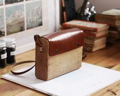 Oak & Leather Bag