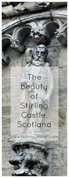 The beauty of Stirling Castle in Scotland