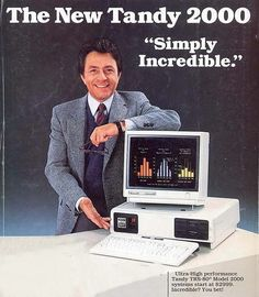 Tandy TRS-80 M2000. Introduced by Radio Shack in 1983