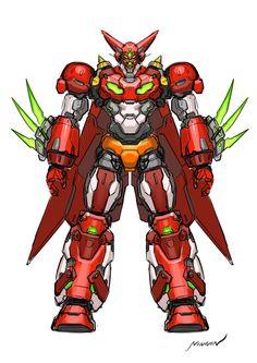 Marvel Cartoons, Old Cartoons, Super Robot Taisen, Character Art, Character Design, Robot Illustration, Gundam Wallpapers, Vintage Robots, Robot Concept Art