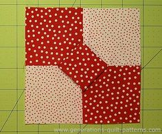 The 3D Bow Tie quilt block is seriously ADORKABLE! A simple four patch with a twist. Fully illustrated instructions. Perfect for the beginning quilter.