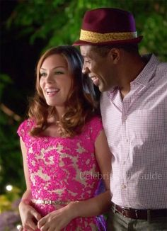 Seen on Celebrity Style Guide: Hart of Dixie Fashion: Kaitlyn Black, as Annabeth, wore a pink Yoana Barasch Night and Day Party Frock Dress on Hart of Dixie episode �Friends in Low Places�