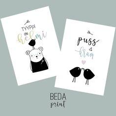 #ystävänpäiväkortti #valentinesday #cards Botanical Illustration, Doodles, Photo And Video, Prints, Cards, Diy, Instagram, Bricolage, Do It Yourself