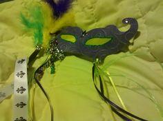 Mardi Gras Mask and Charm Swap - Scrapbook.com