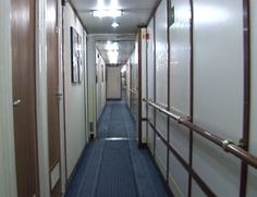 Cabin Corridor - CLICK ON THE PICTURE TO WATCH THE VIDEO Corridor, Watch Video, Divider, Cabin, Room, Pictures, Furniture, Home Decor, Photos