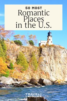 There are plenty of romantic wilderness retreats where couples can take advantage of epic cliffs, waterfalls, and beaches. For more urban couples, we found waterfront streets and high-up cityscape views. And, of course, there are a few castles for couples swept up in a fairytale romance.#unitedstates #travel #ustravel #travelandleisure