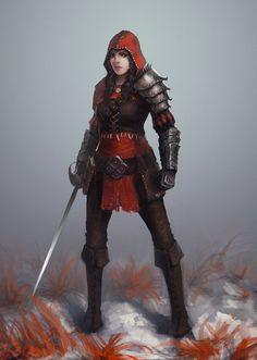 Red Riding Hood, Ivan Skudnev on ArtStation at https://www.artstation.com/artwork/red-riding-hood-c253e996-27f1-423d-b417-754bb7bec62a