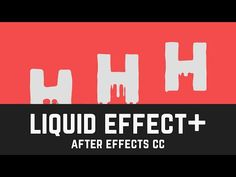 T020 Liquid Effect in After Effects CC - YouTube