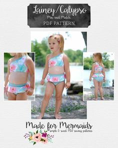 4//5 Total Girl 3-Piece Girls Short Sleeve Pajama Set XXS Calypso Green