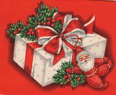 vintage christmas presents