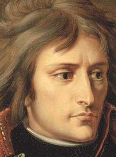 Napoleon Bonaparte, detail from portrait by Antoine-Jean Gros c.1801