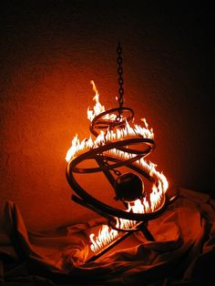 Cosmic Chain of Events by firesculptureart on Etsy, $8200.00