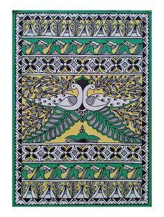 Indian Artwork, Indian Folk Art, Indian Art Paintings, Madhubani Paintings Peacock, Madhubani Art, Kerala Mural Painting, Mandala Art Lesson, Art Drawings For Kids, Ipad Art