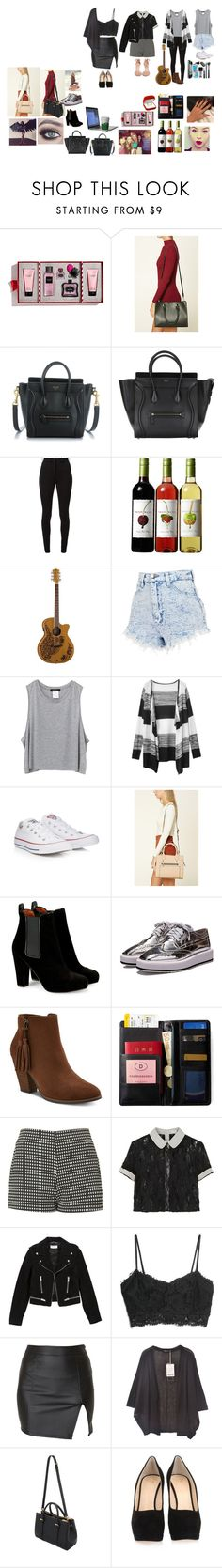 """""""meus looks"""" by mayara-loca ❤ liked on Polyvore featuring Victoria's Secret, Forever 21, Victoria Beckham, Lauren Conrad, Converse, GUESS, IDEA International, Forum, Motel and Opening Ceremony"""