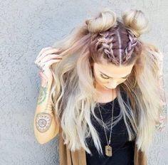 45 Easy Hairstyles For Spring Break Rapunzel Rapunzel Let Down Your Long Hair Hair, Long hair styles, Hair styles Pretty Hairstyles, Girl Hairstyles, Hairstyle Ideas, Latest Hairstyles, Rocker Hairstyles, French Plait Hairstyles, 2 Buns Hairstyle, Spring Hairstyles, Hair Updo